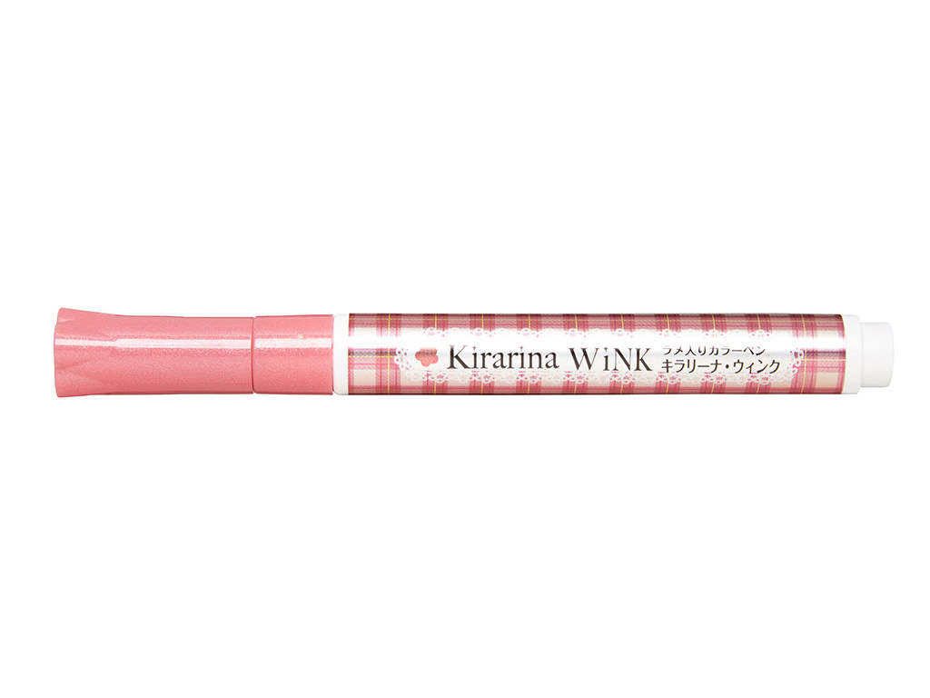 Kirarina Wink Metallic Marker Old Rose 010