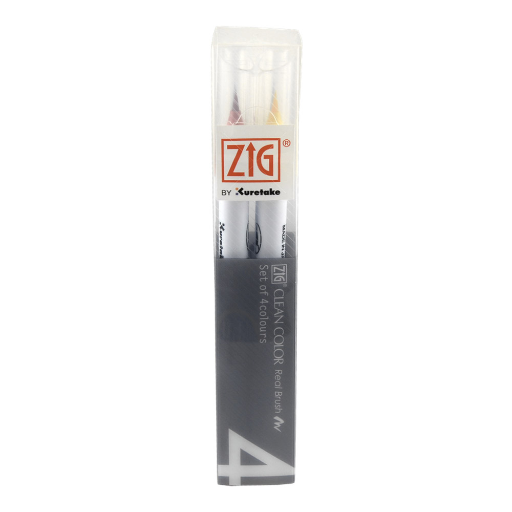 Zig Clean Color Real Brush Pure Set/4