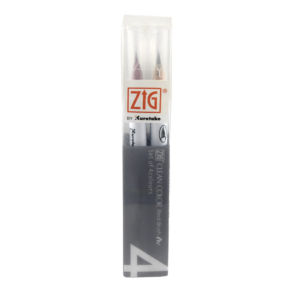 Zig Clean Color Real Brush Deep Set/4