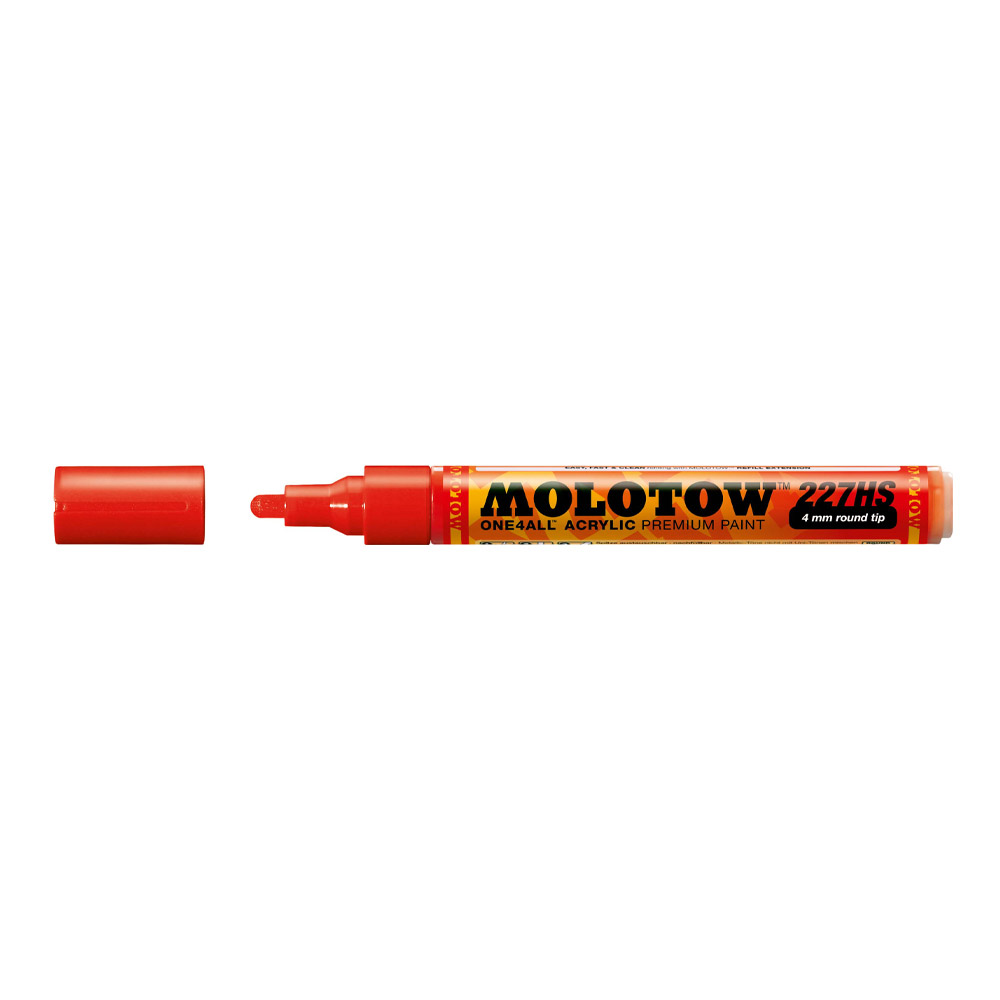 Molotow One4All Marker 227Hs 4Mm Traffic Red