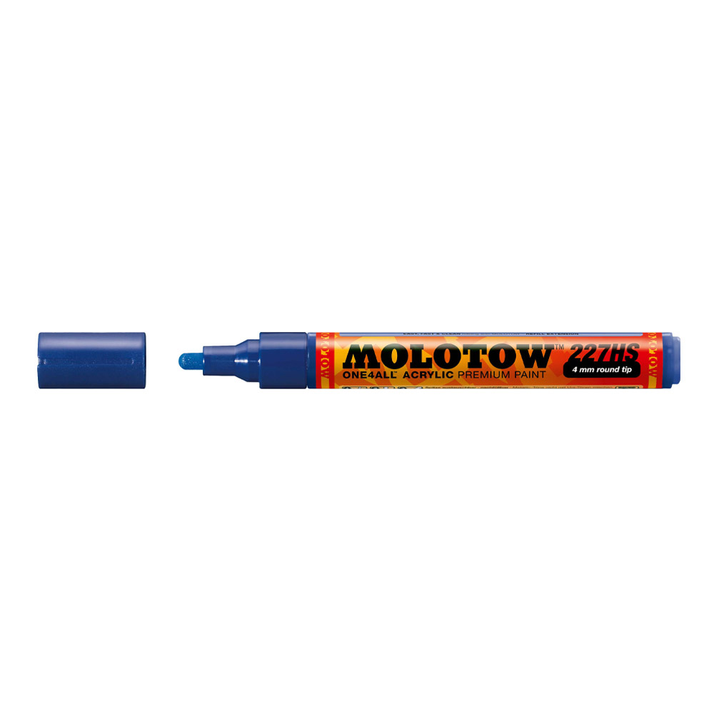 Molotow One4All Marker 227Hs 4Mm True Blue