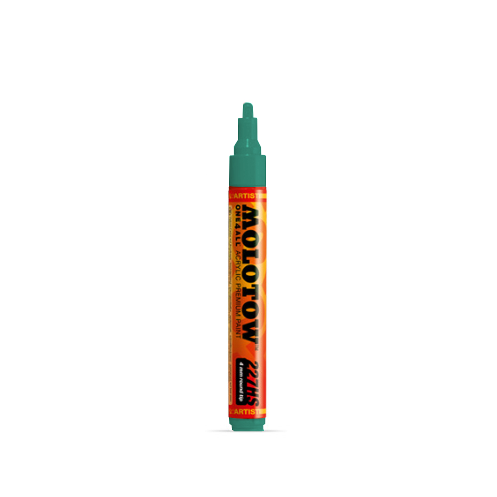 Molotow One4All Marker 227Hs 4Mm Lagoon Blue