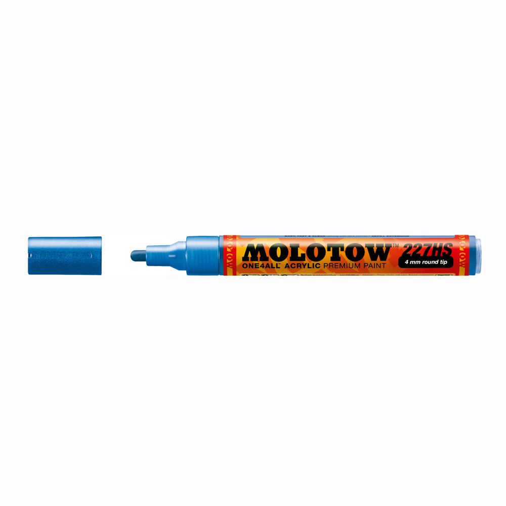 Molotow One4All Marker 227Hs 4Mm Metal Blue