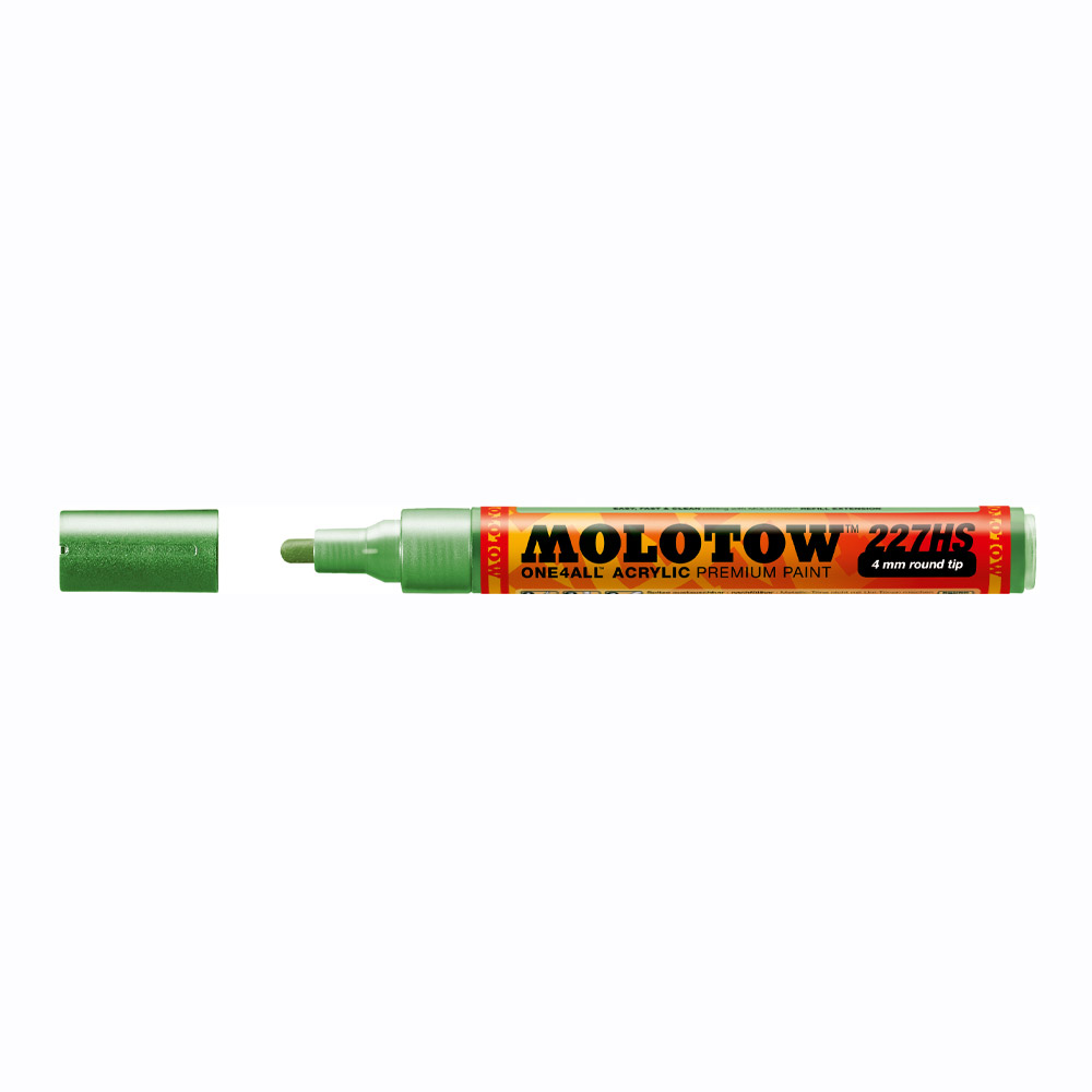 Molotow One4All Marker 227Hs 4Mm Metal Green