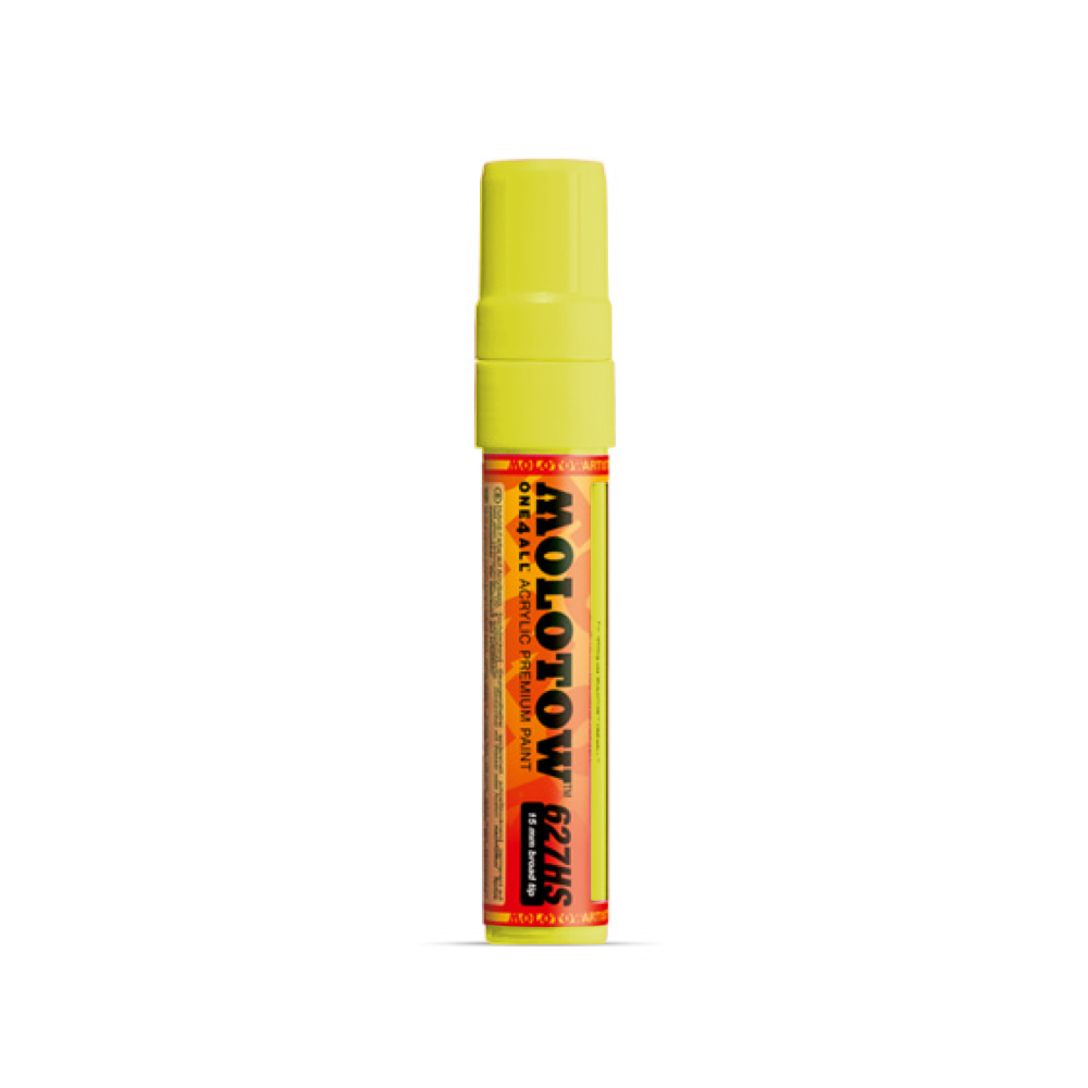 Molotow One4All Marker 627Hs 15Mm Zinc Yellow