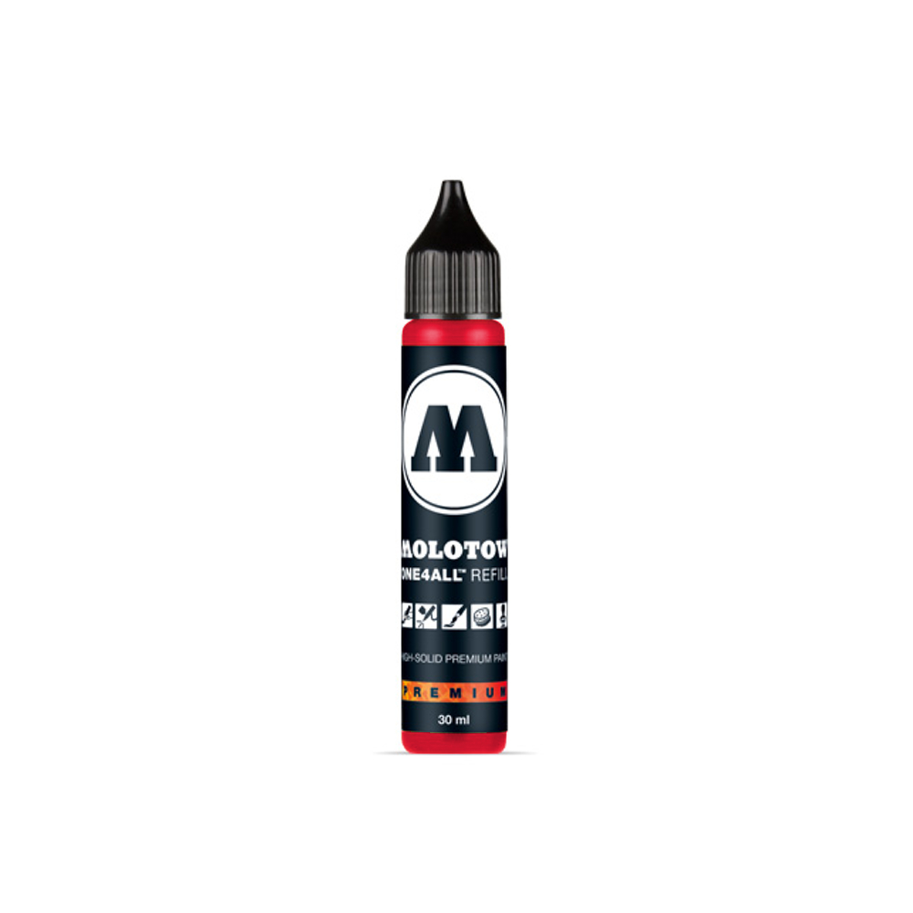 Molotow One4All Refill 30Ml Traffic Red