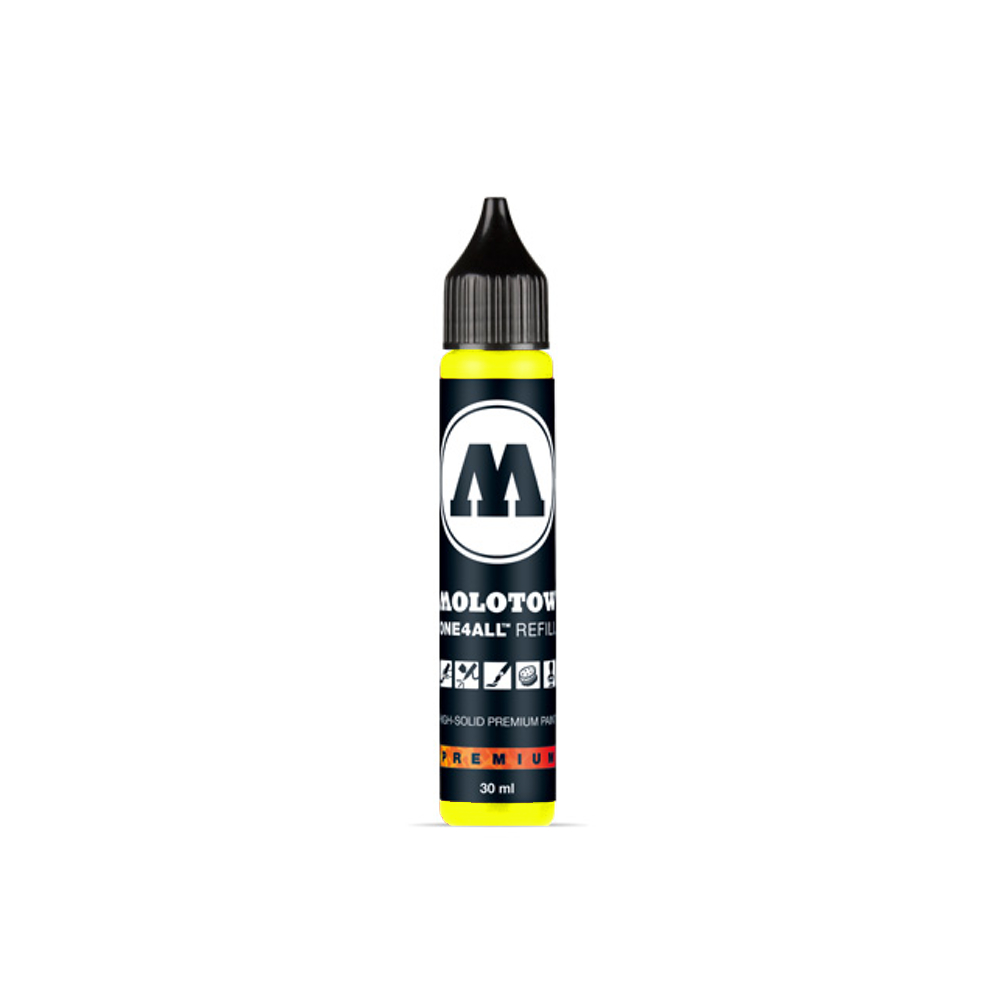 Molotow One4All Refill 30Ml Neon Yellow Fluor