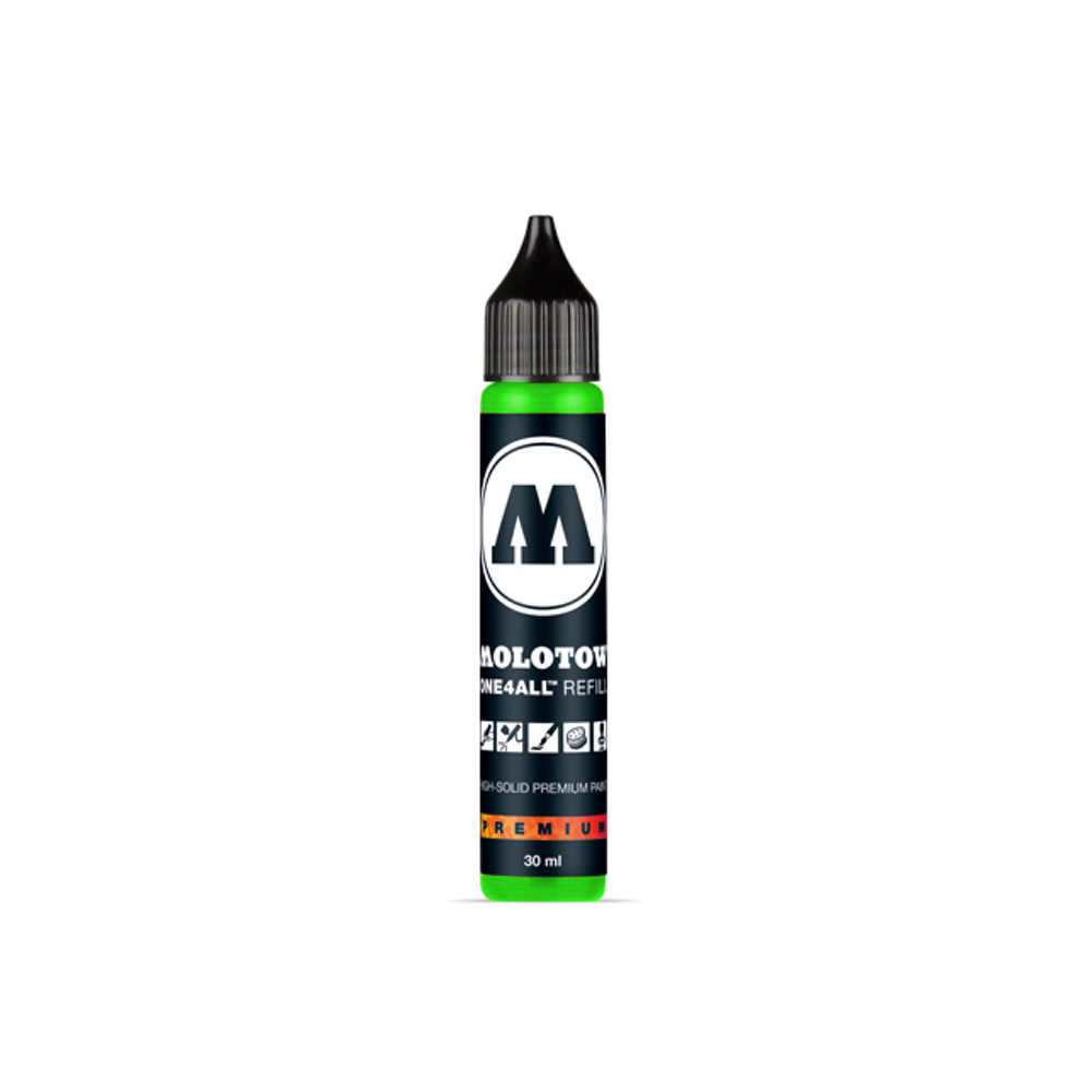 Molotow One4All Refill 30Ml Neon Green Fluor