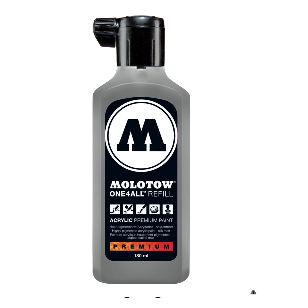 Molotow One4All Refill 180Ml Cool Gray Pstl