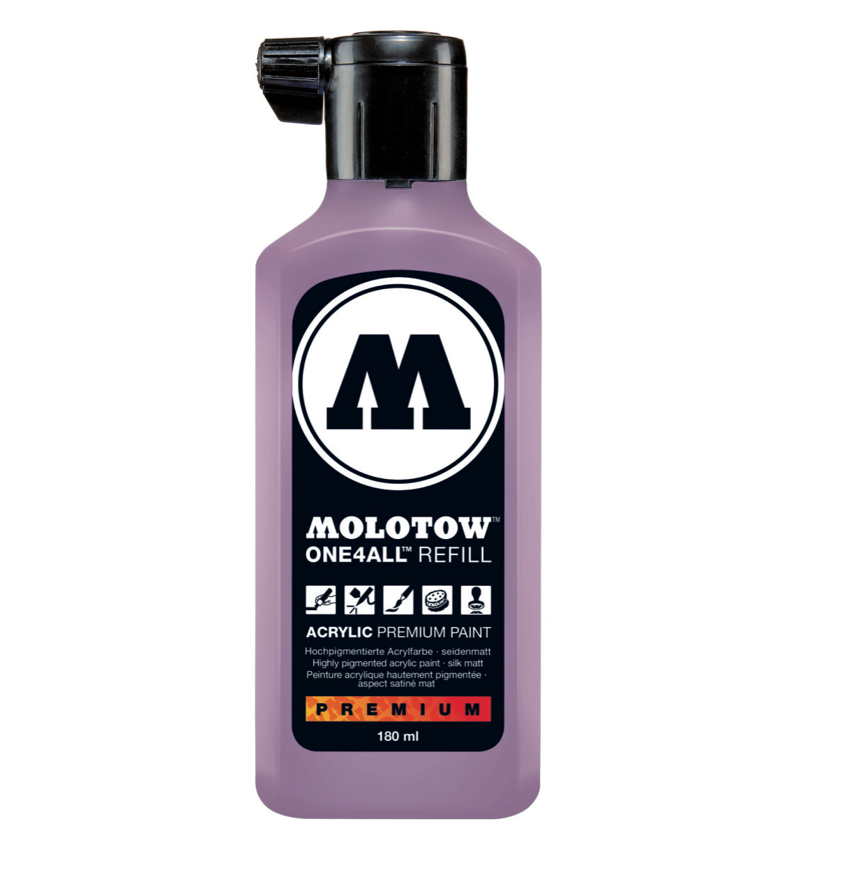 Molotow One4All Refill 180Ml Lilac Pastel