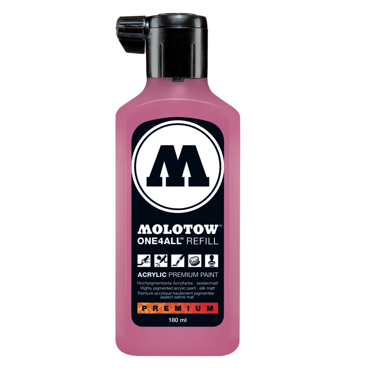 Molotow One4All Refill 180Ml Neon Pink