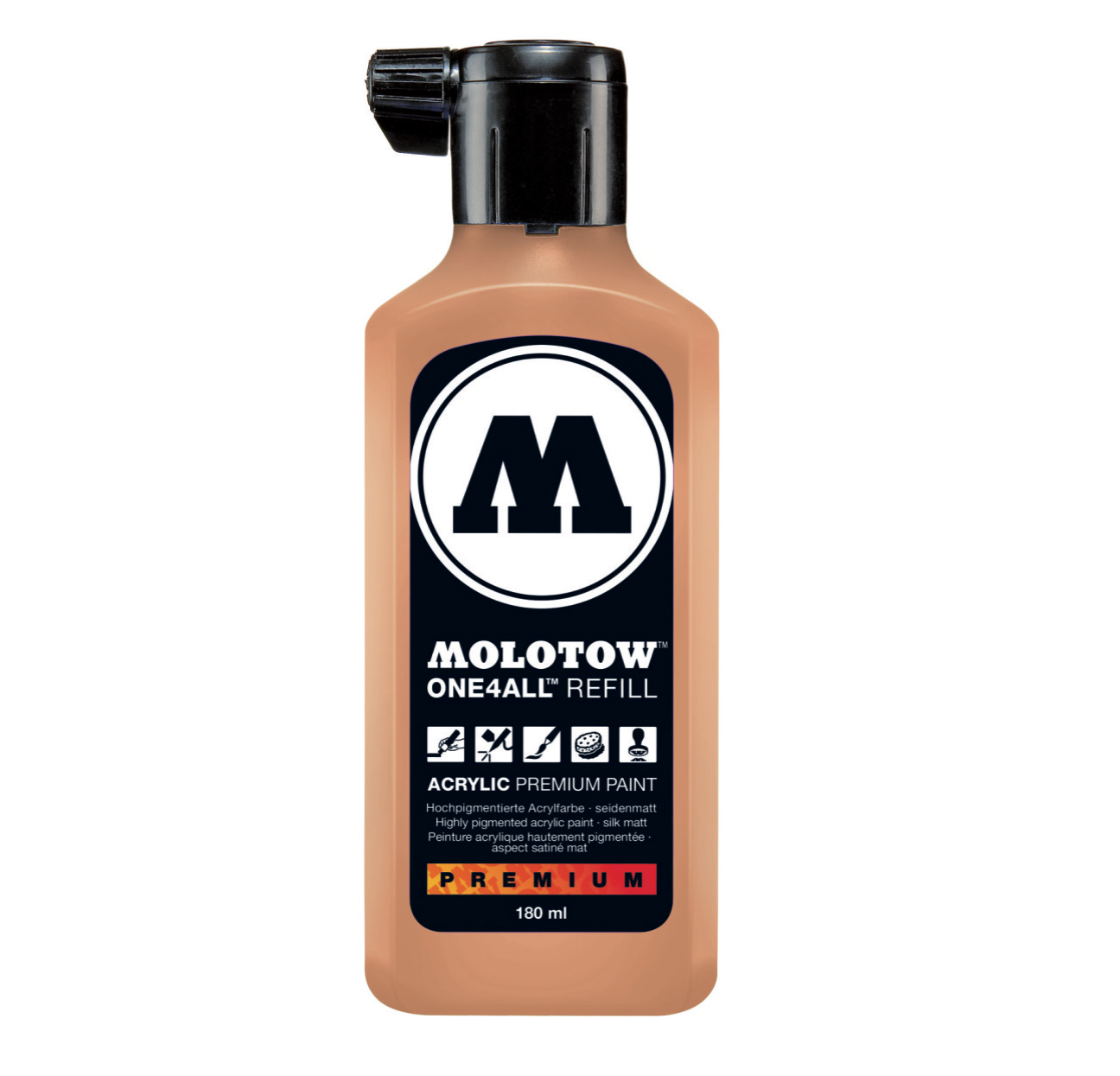 Molotow One4All Refill 180Ml Peach Pastel