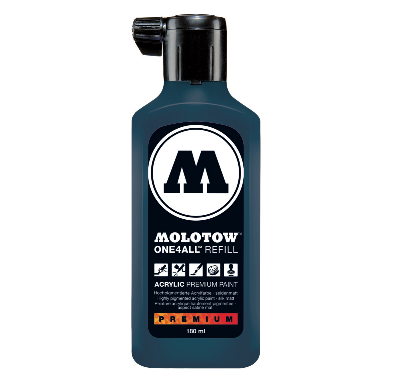 Molotow One4All Refill 180Ml Petrol