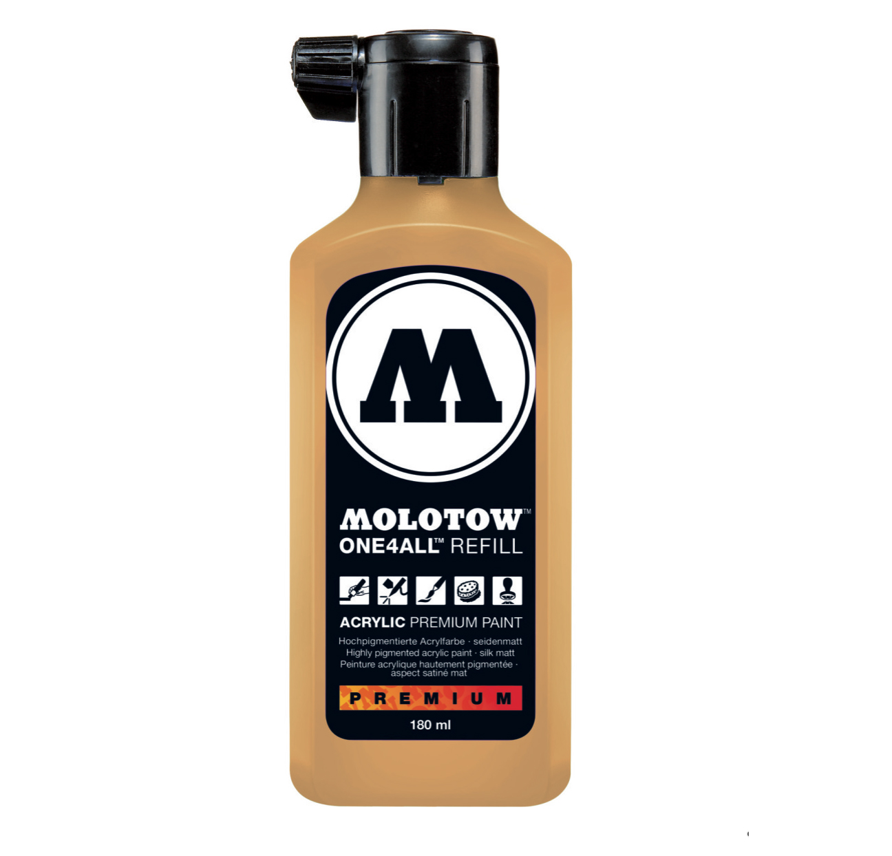 Molotow One4All Refill 180Ml Sahara Bge Pstl