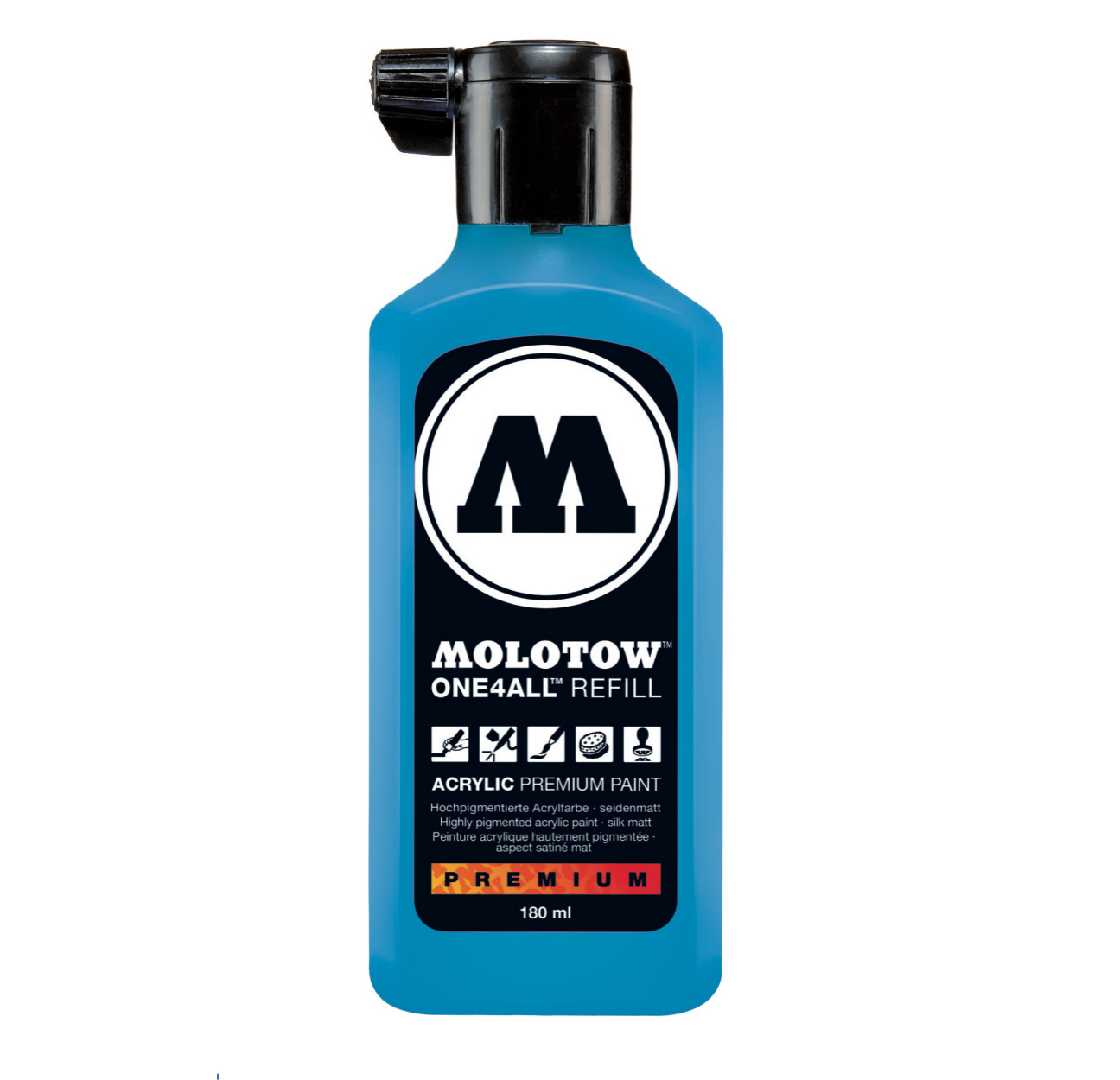 Molotow One4All Refill 180Ml Shock Blue Mid