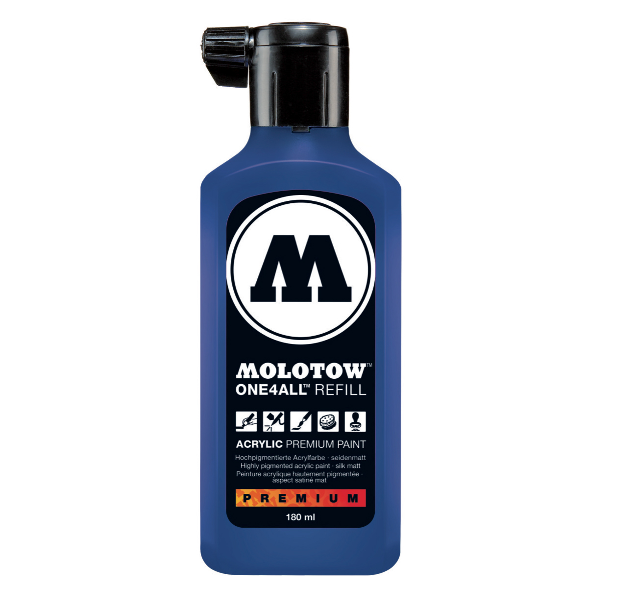 Molotow One4All Refill 180Ml True Blue