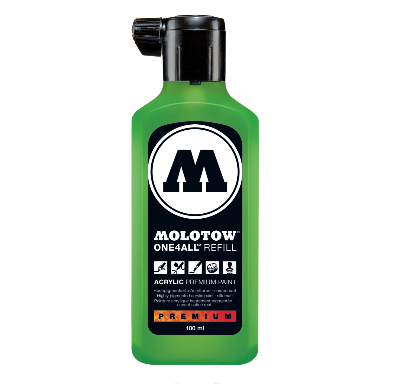 Molotow One4All Refill 180Ml Universals Green