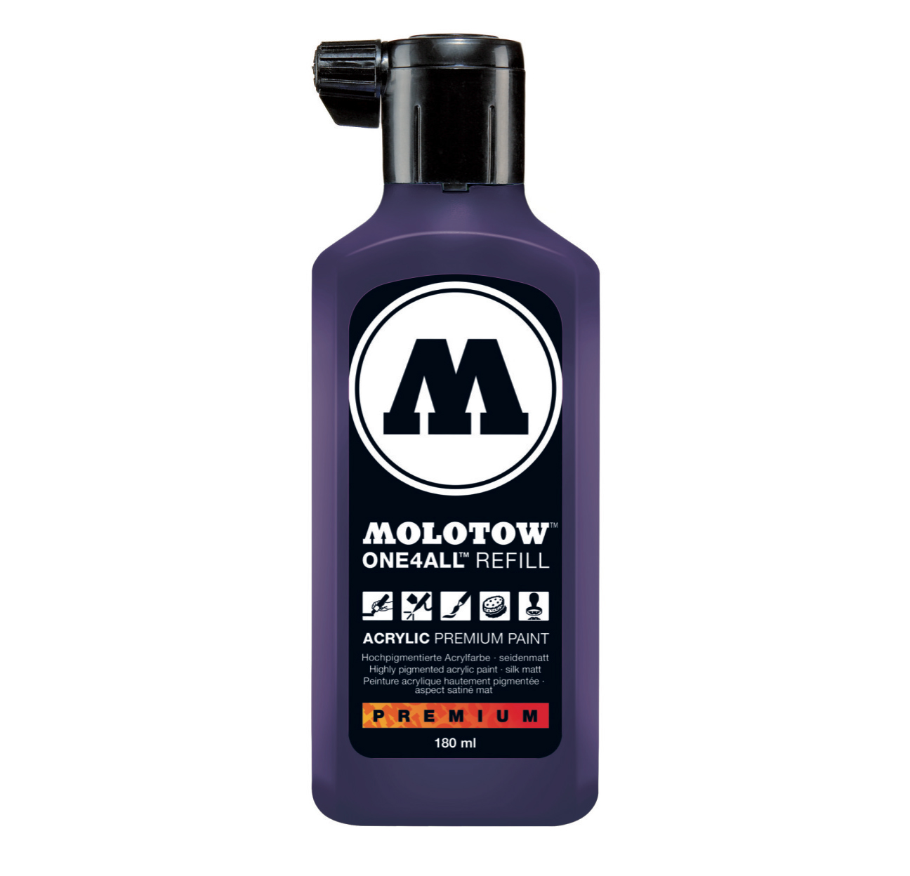 Molotow One4All Refill 180Ml Violet Dark