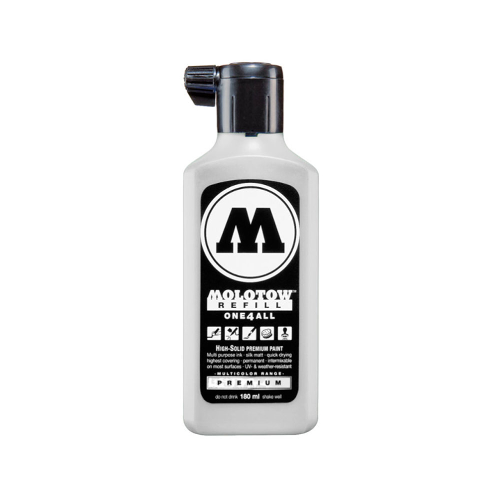 Molotow One4All Refill 180Ml Signal White
