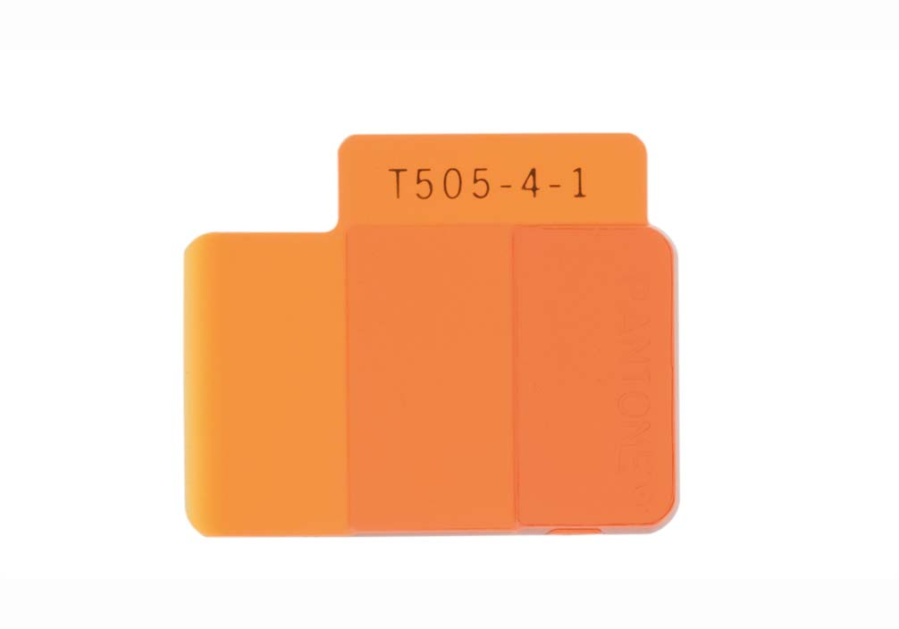 Pantone Plastics Chip Transparent T815-4-2