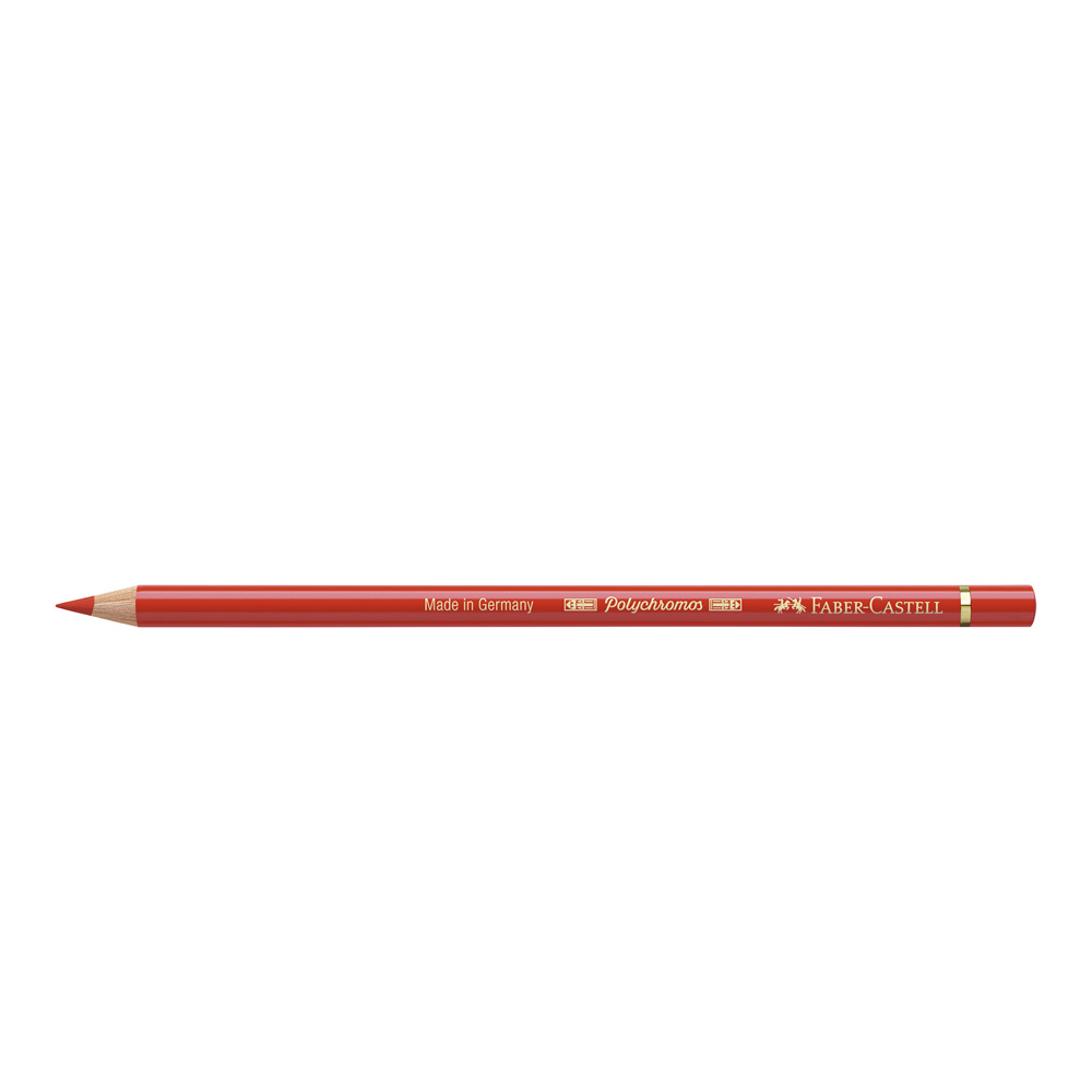 Polychromos Pencil 117 Light Cadmium Red