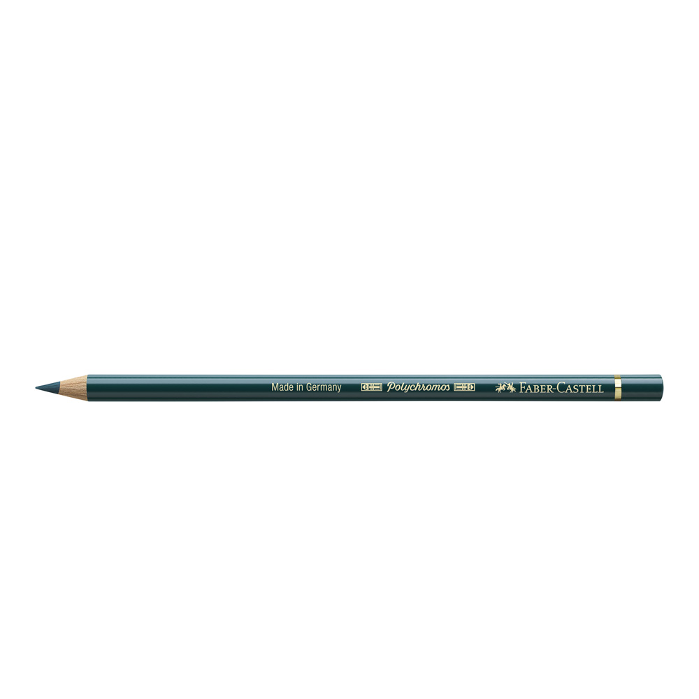 Polychromos Pencil 158 Deep Cobalt Green