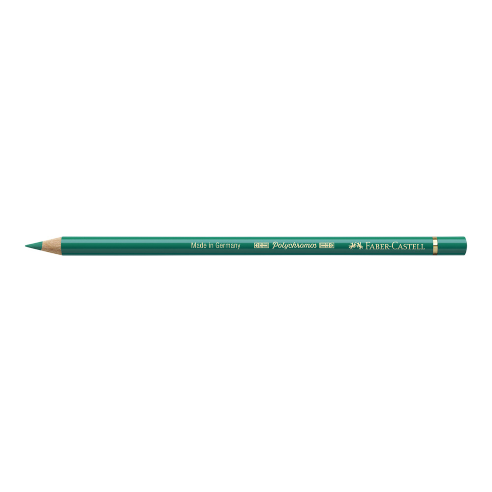Polychromos Pencil 161 Phthalo Green