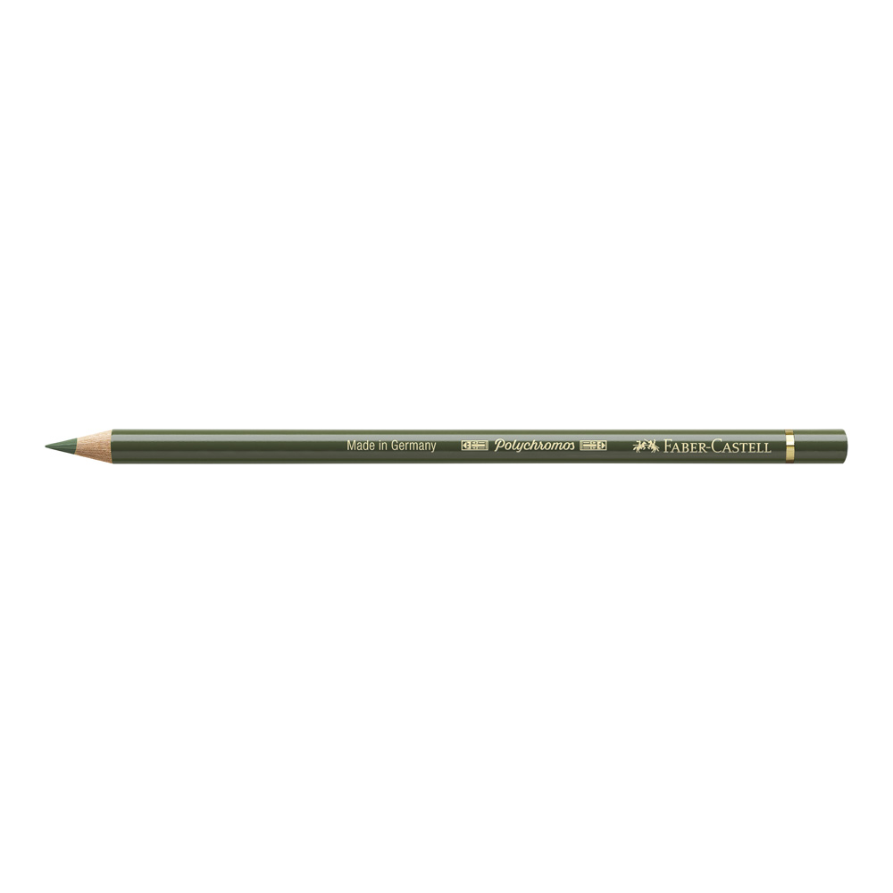 Polychromos Pencil 174 Chrome Green Opaque