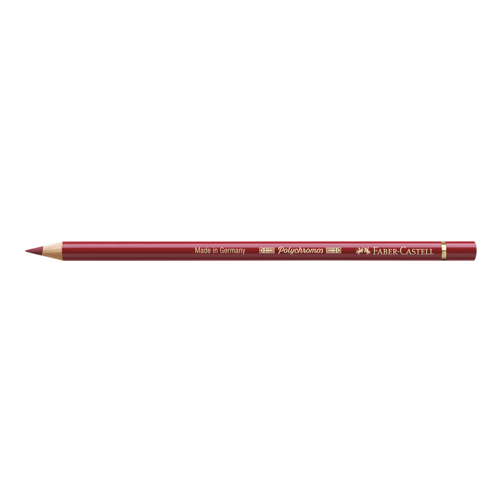 Polychromos Pencil 217 Mid Cadmium Red