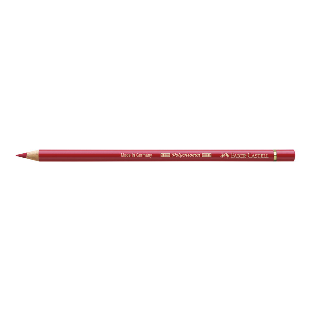 Polychromos Pencil 219 Deep Scarlet Red