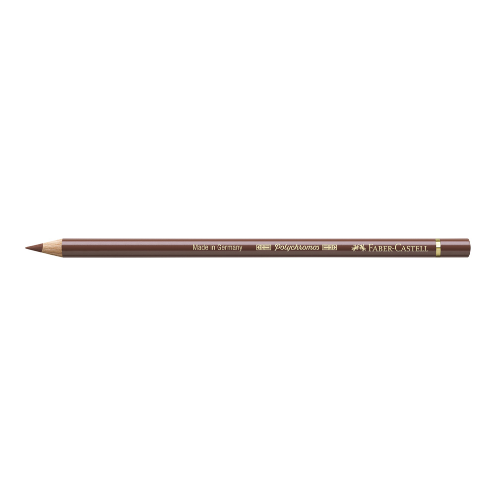 Polychromos Pencil 283 Burnt Sienna