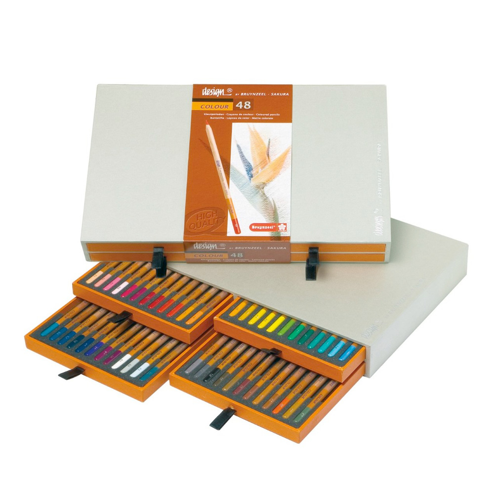 Bruynzeel 48 Color Pencil Box Set