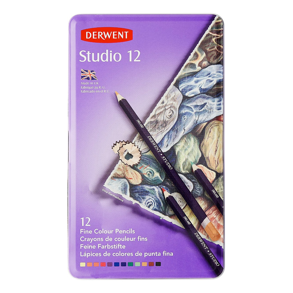 Derwent 12 Studio Pencil Tin Set