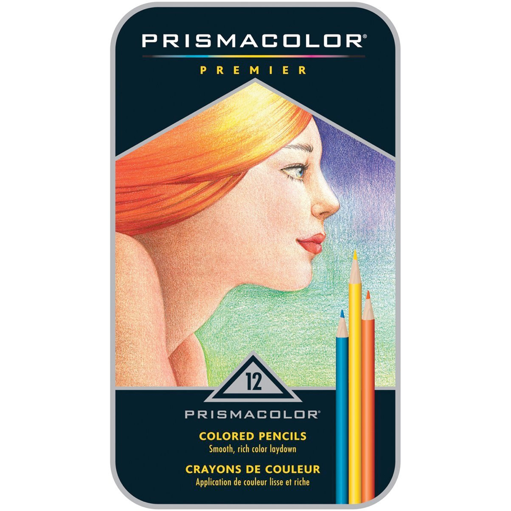 Prismacolor Pencil 12 Color Box Set