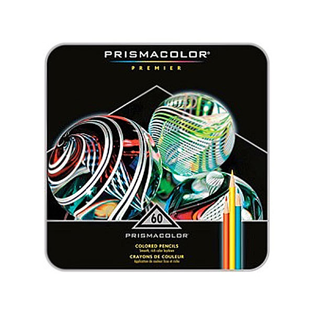 Prismacolor Pencil 60 Color Box Set