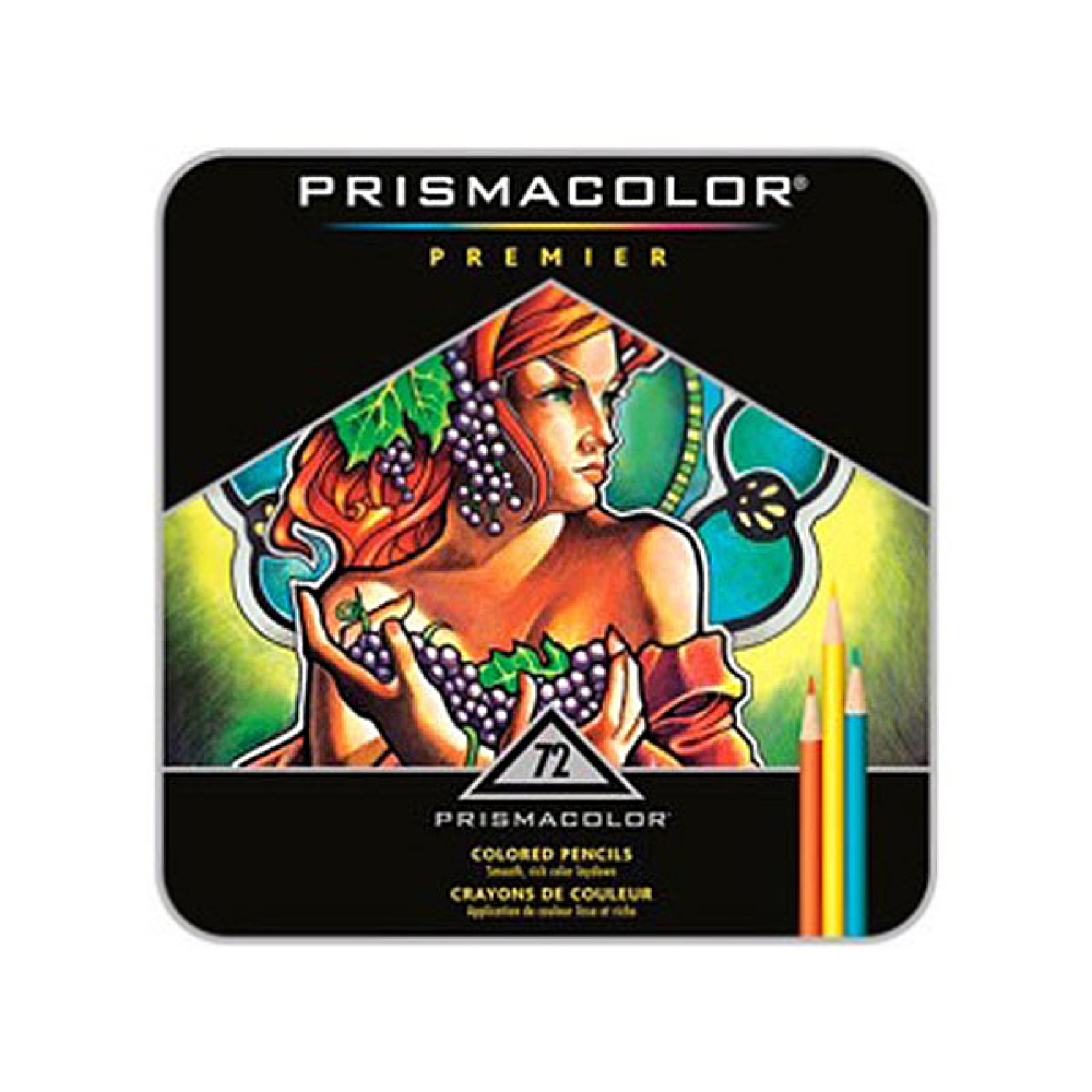 Prismacolor Pencil 72 Color Box Set
