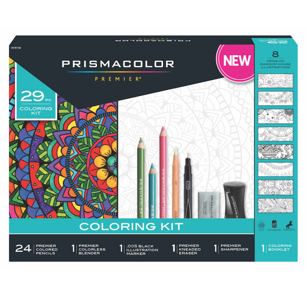 Prismacolor 29-Piece Coloring Kit