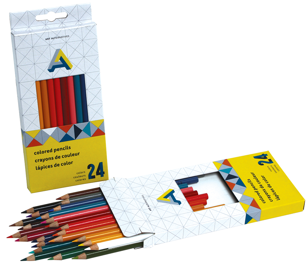 Art Alternatives Colored Pencil Set/24