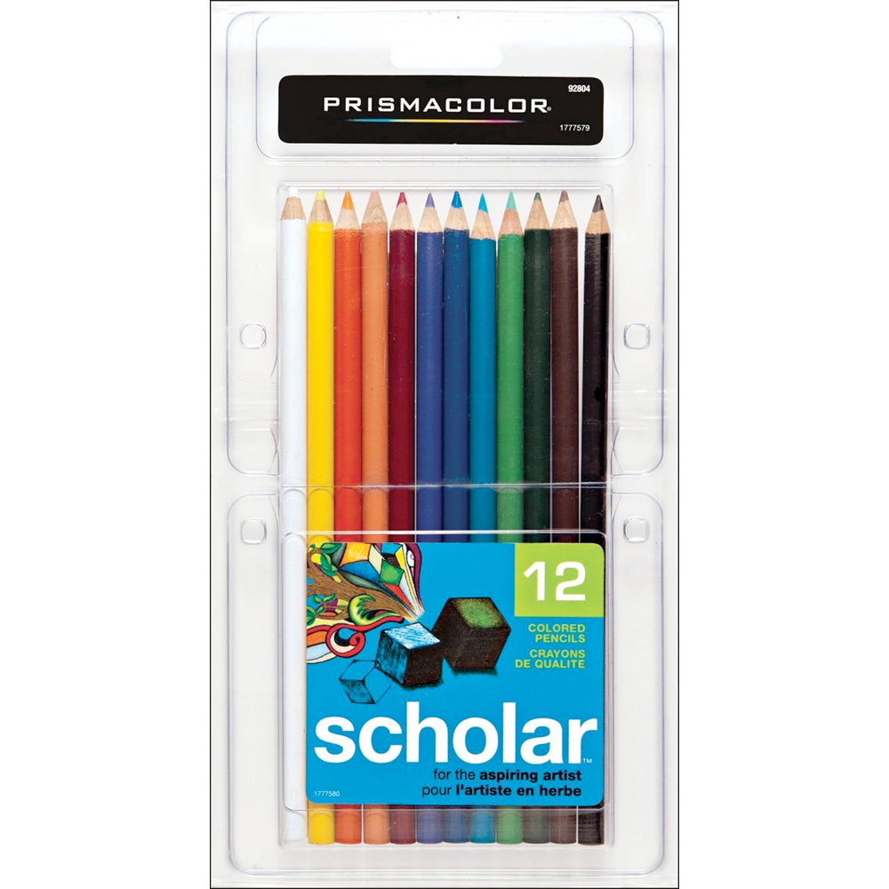 Prismacolor Scholar Pencil 12 Color Set