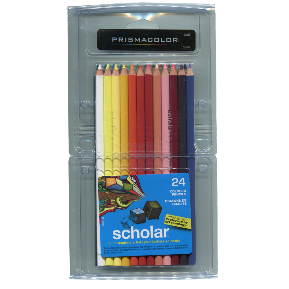 Prismacolor Scholar Pencil 24 Color Set