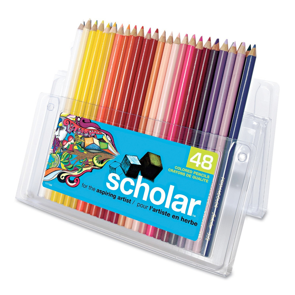 Prismacolor Scholar Pencil 48 Color Set