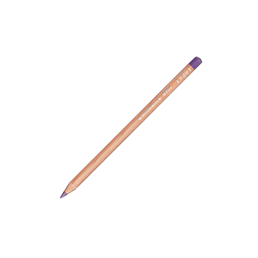 Luminance 6901 Color Pencil 129 Violet Brown