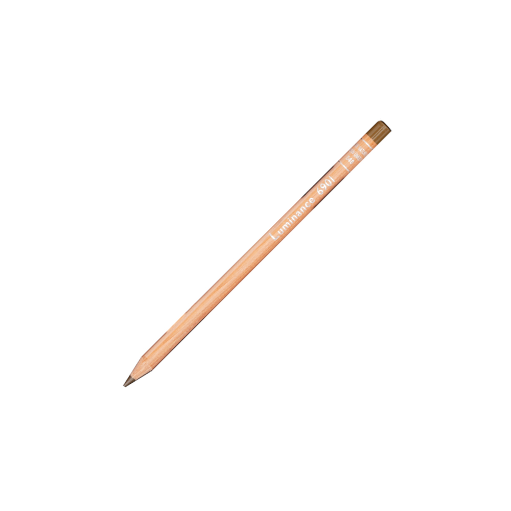 Luminance 6901 Color Pencil 548 Raw Umber