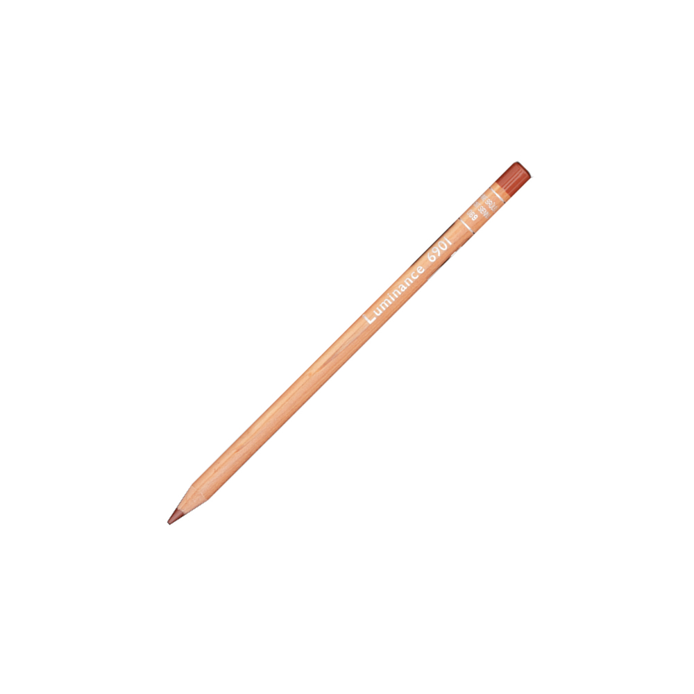 Luminance 6901 Color Pencil 069 Burnt Sienna