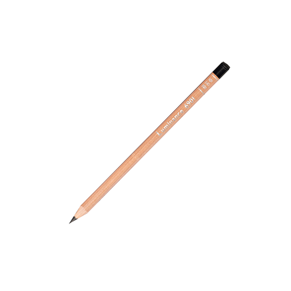 Luminance 6901 Color Pencil 009 Black