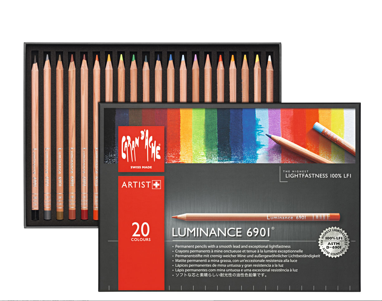 Luminance 6901 Clr Pncl Set 20 Artist Rng