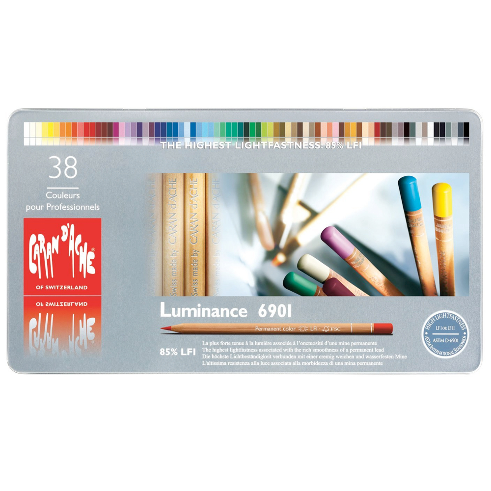 Caran d'Ache Colour Pencils