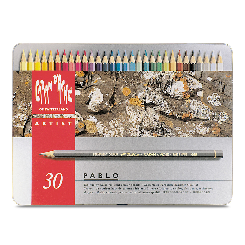 Caran D'ache Pablo Color Pencils Set Of 30