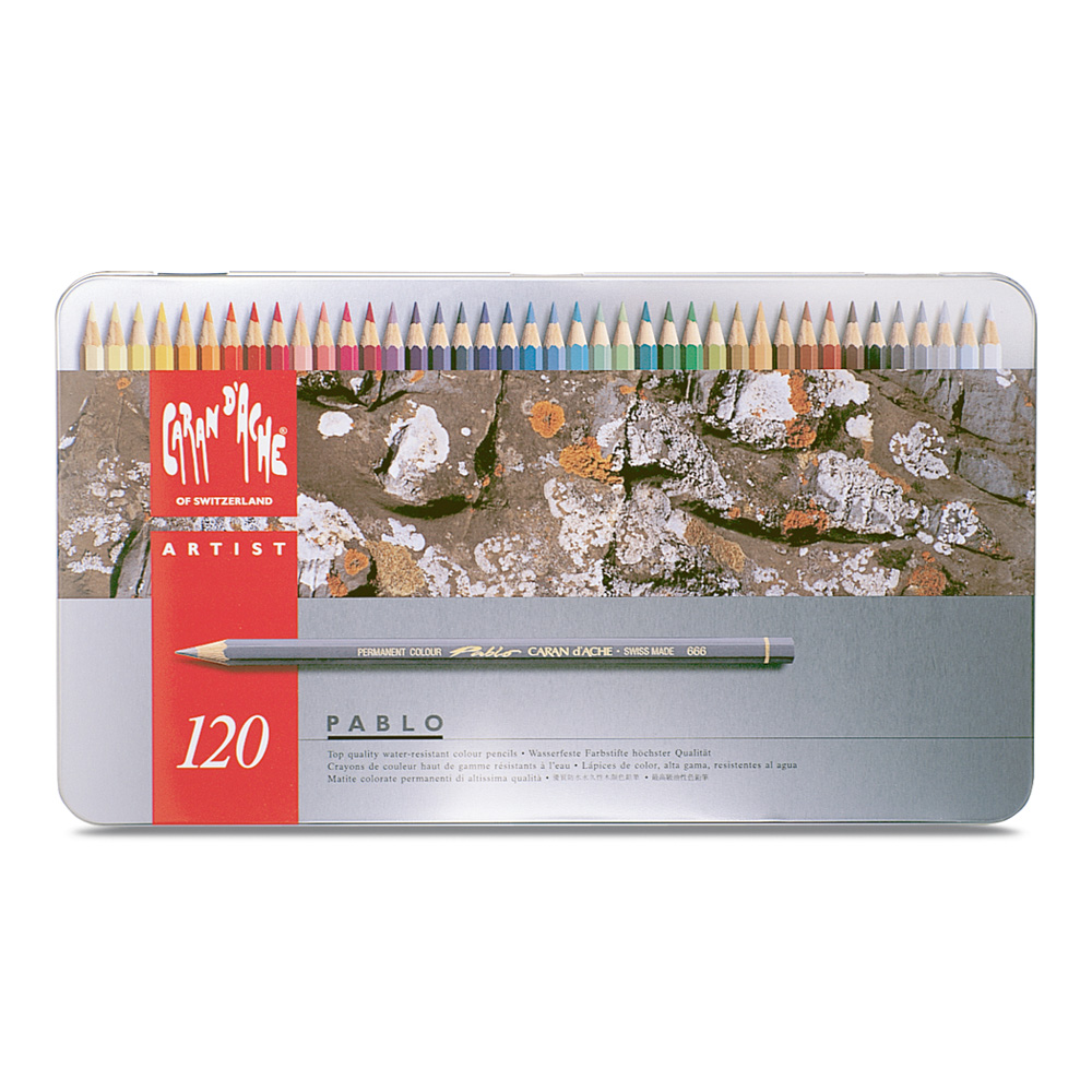 Pablo Colored Pencil Set Of 120 Metal Box