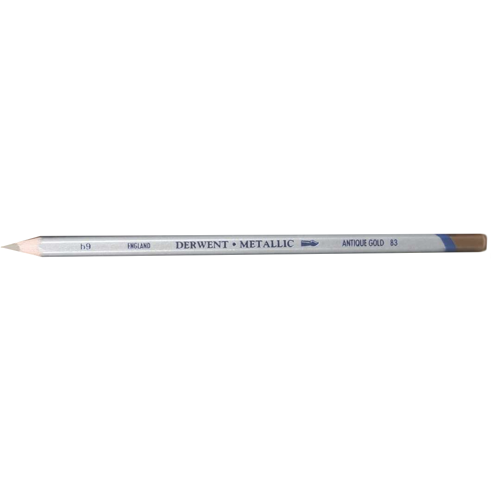 Derwent Metallic Pencil Antique Gold